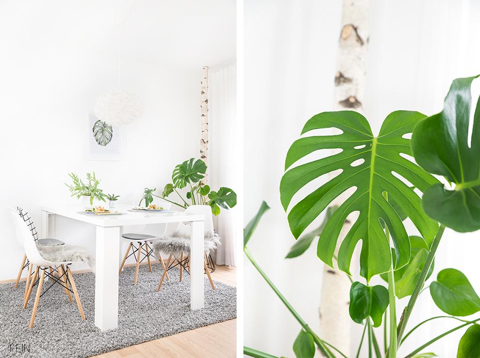 Greenery Einrichtung Interior Trend skandinavisch
