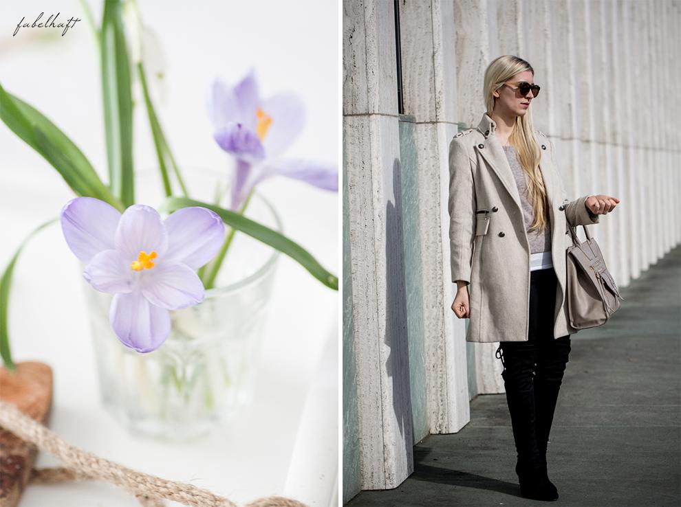 Vivaness Logona Naturkosmetik Santé Blogger Fashion Frühling Outfit Mode Trend Volants Overknees Blond 8