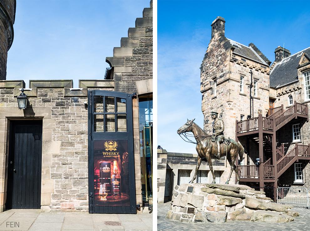 Edinburgh Castle Burg Festung Reise
