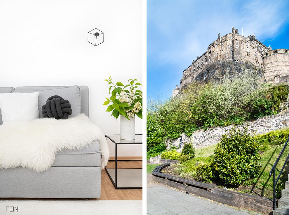 Edinburgh Castle Reise Städtetrip