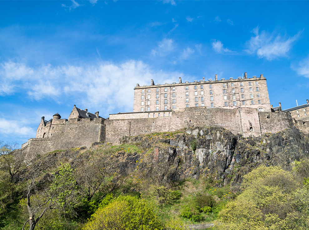 Edinburgh Castle Schloss