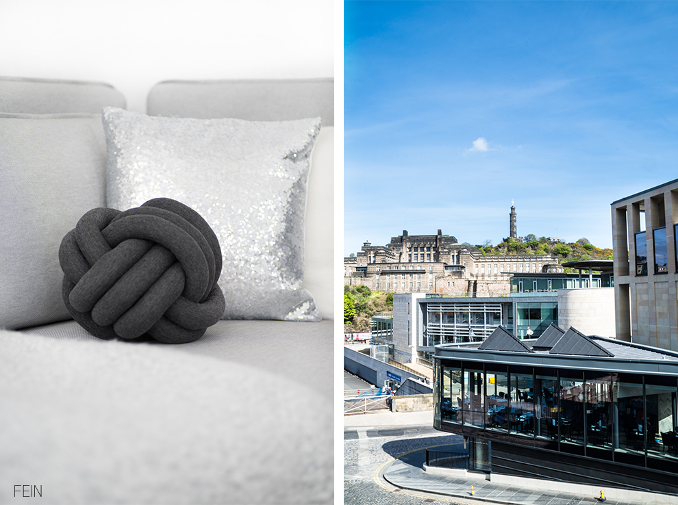 Edinburgh City modern Architektur