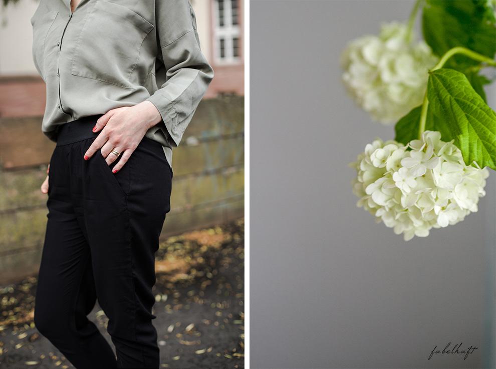 Life hack Outfit Safari Pull up Hose casual interior home louge ikea frühling grau weiß 3