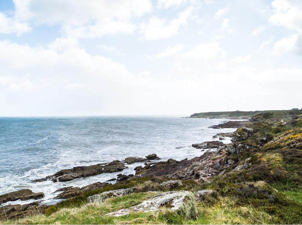 Schottland Küste Meer