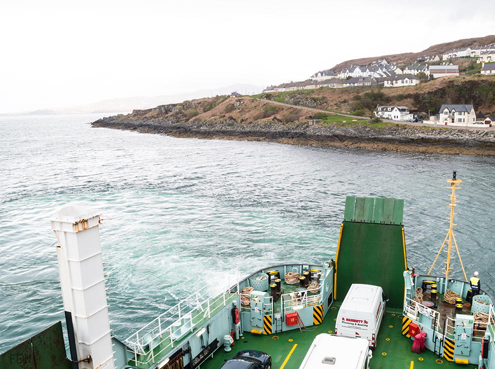 Schottland Meer Inseln Skye