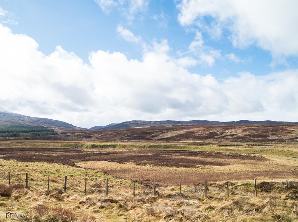 Schottland Reise Landschaft