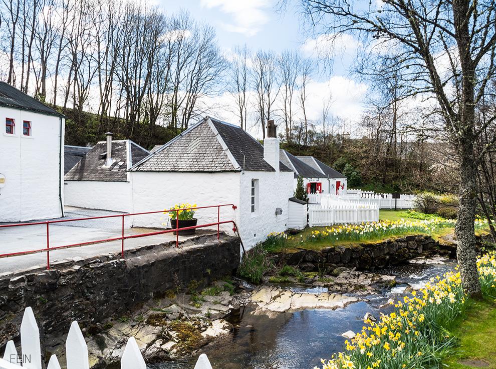 Schottland Whisky Brennerei Destillerie