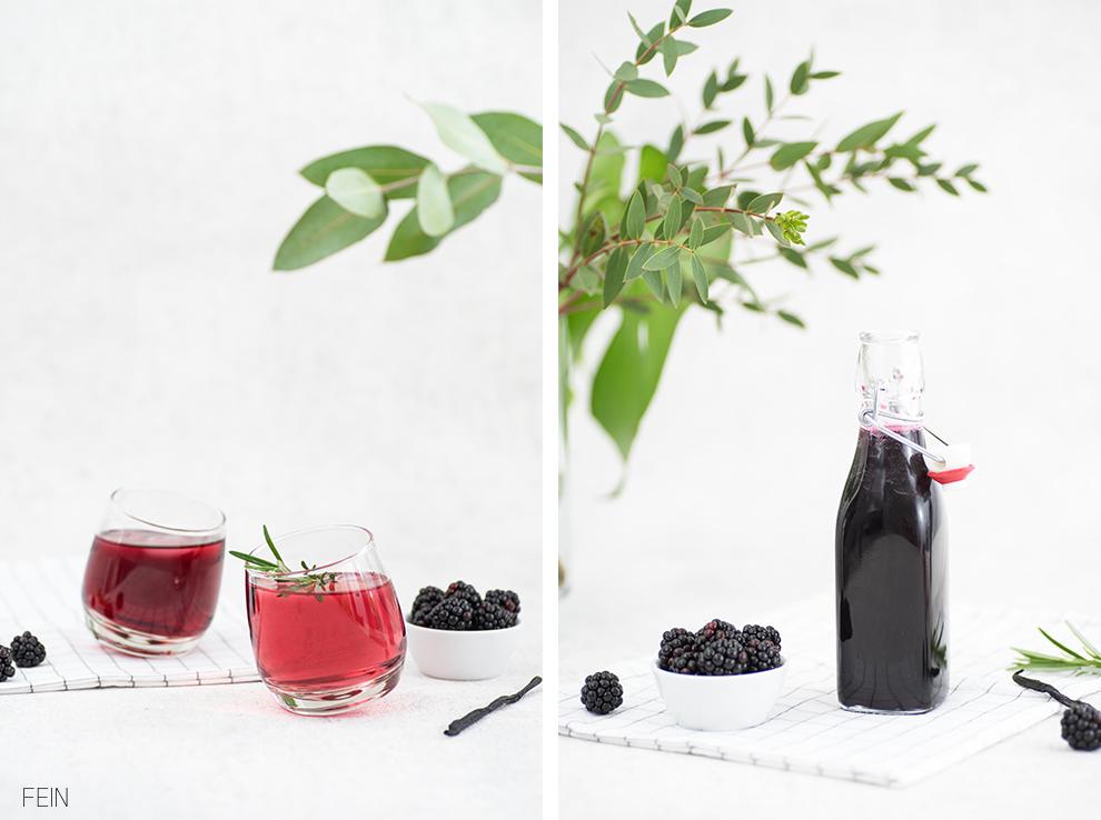 Trinkflasche Sommer Drinks Sirup