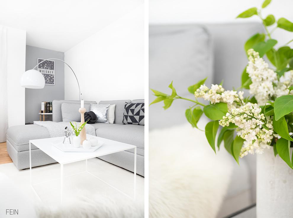 Zuhause Interior scandinavian white living