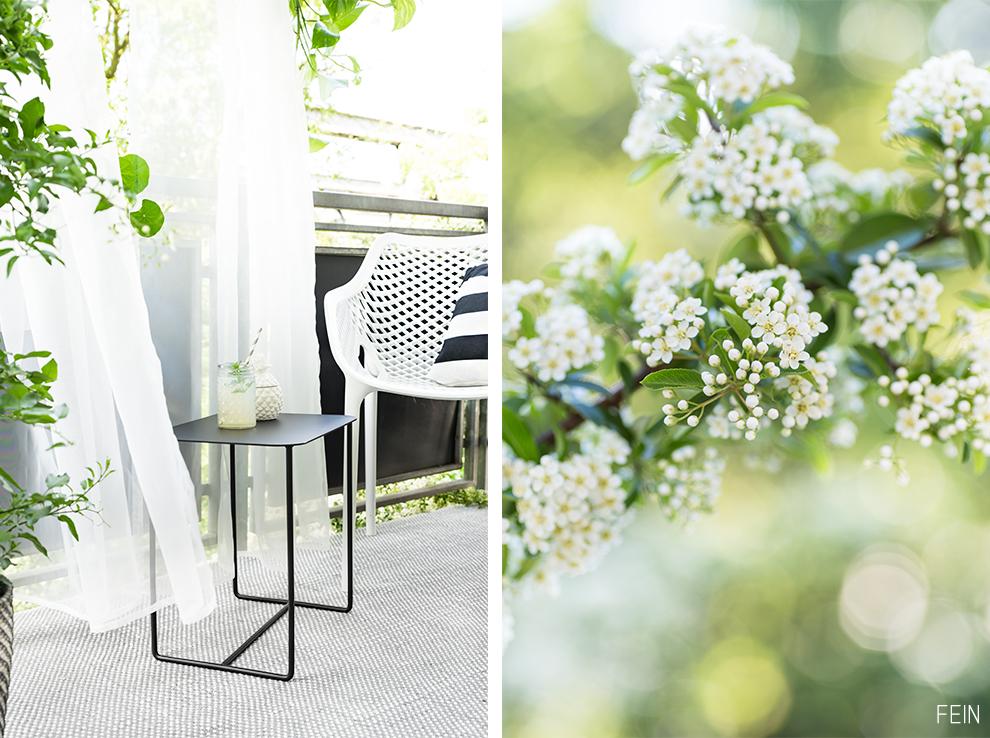 Balkon Outdoor Saison Textilien