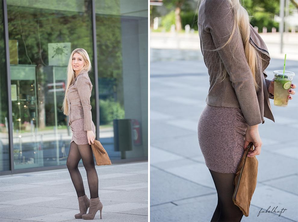 Frühsommer Outfits neutrals soft zarte Töne Farben Malve Beige Blush Rosé Blond Blogger Mode Fashion Trend Sommer