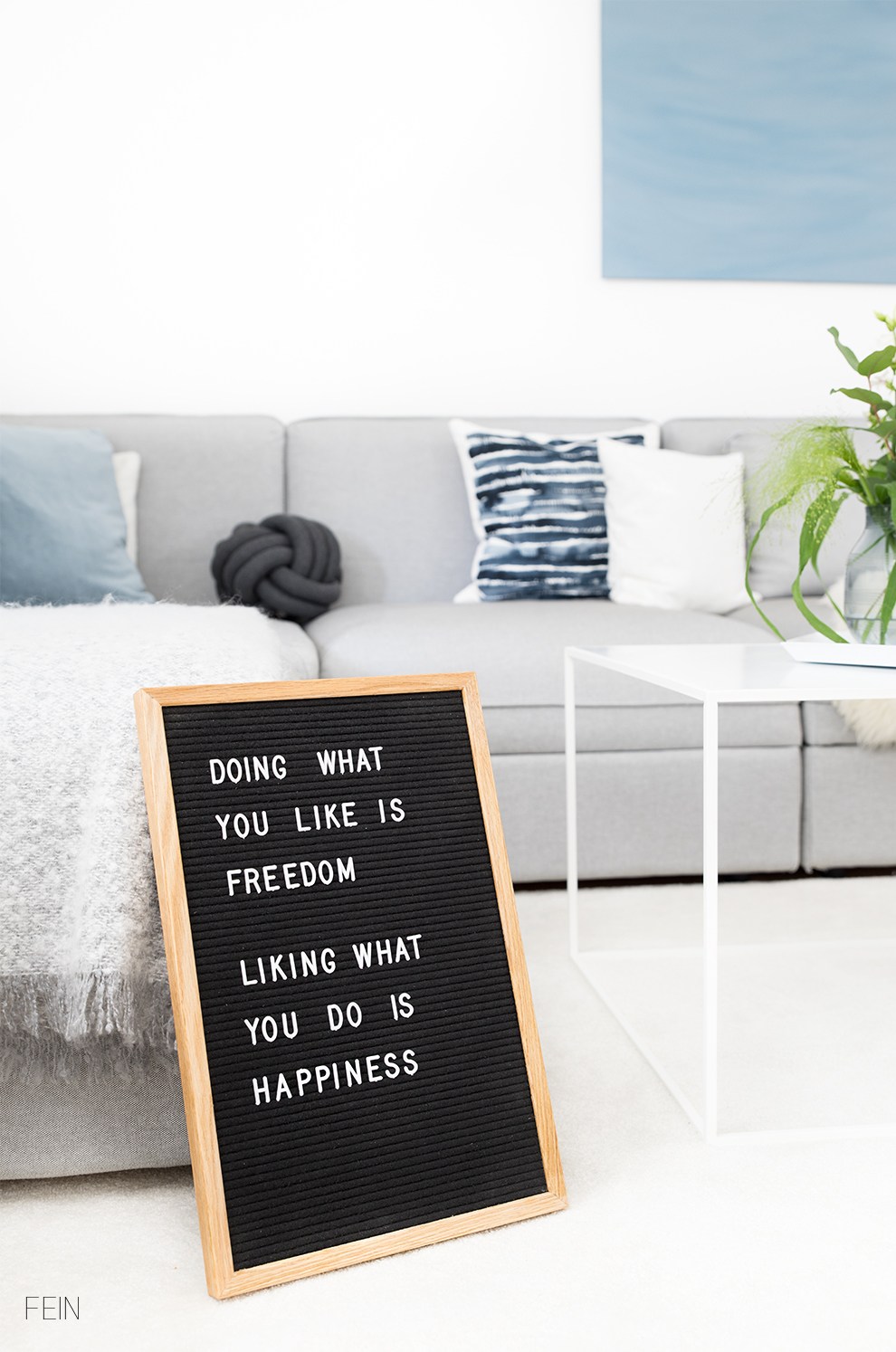 Interior News 2017 Trends Letterboard