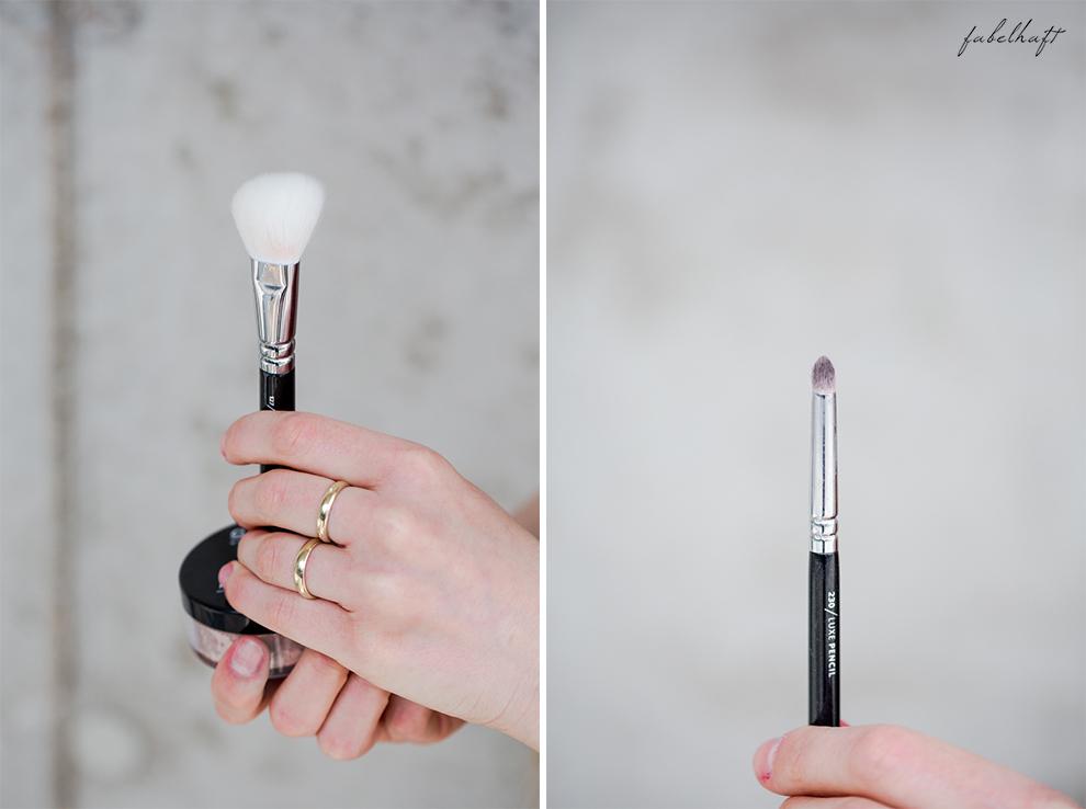 Zoeva Pinsel Kosmetik Naturkosmetik Make-up Tutorial
