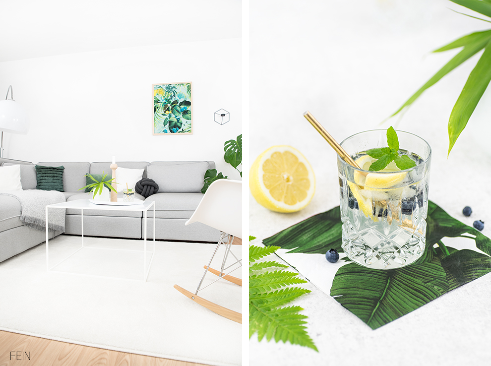 Gin Coktails Sommer Tropical