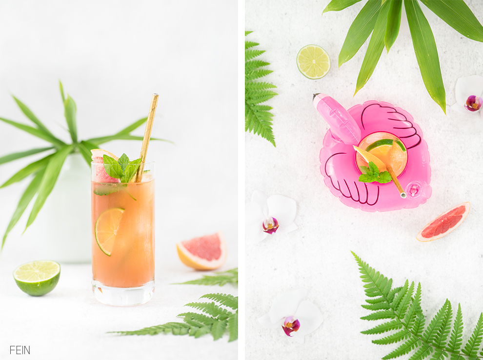 Gin Grapefruit Cocktail Summer drink