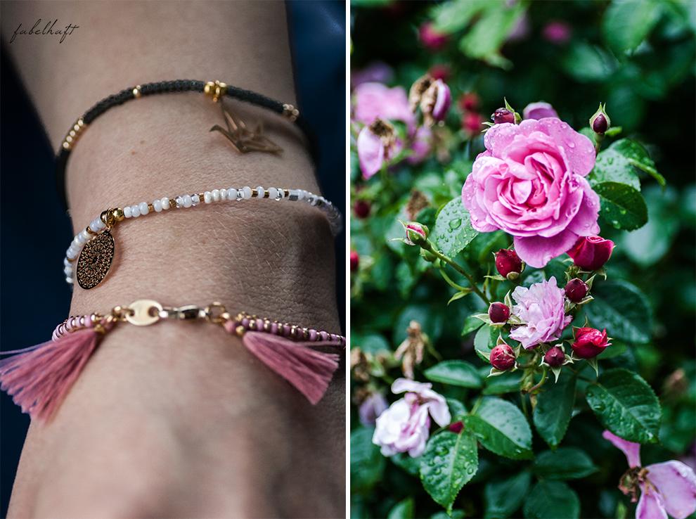 Motmot Jewellery Vintage Garden Armbänder Gold Giveaway Gewinnspiel Kolibri Kranich Origami Armcandy 3