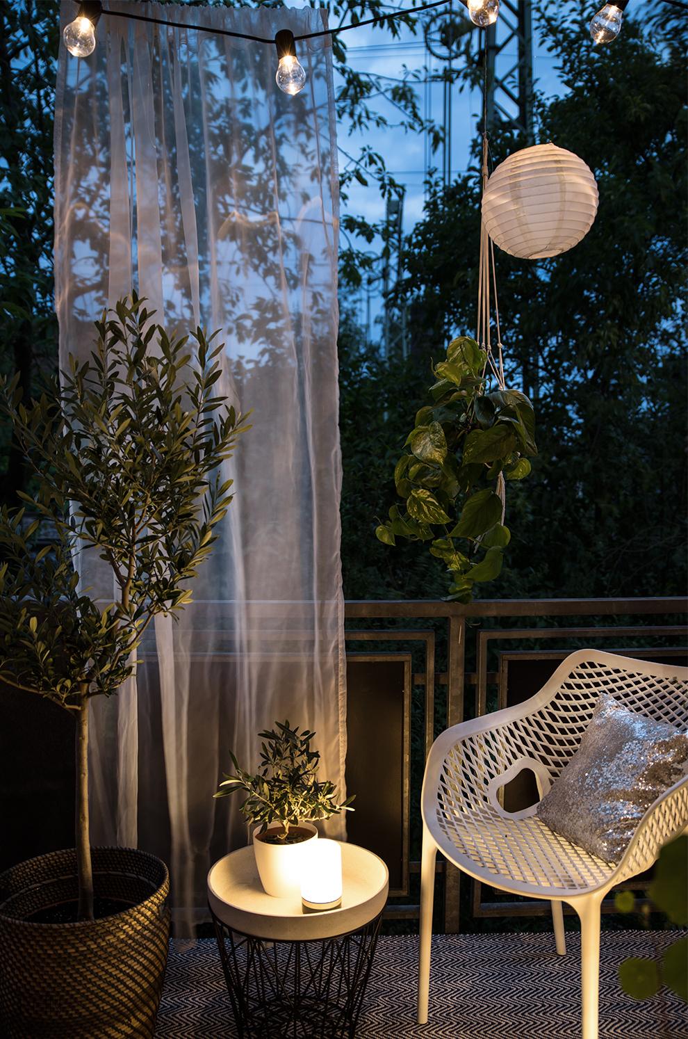 Outdoor Accessoires LED Lichter Blomus