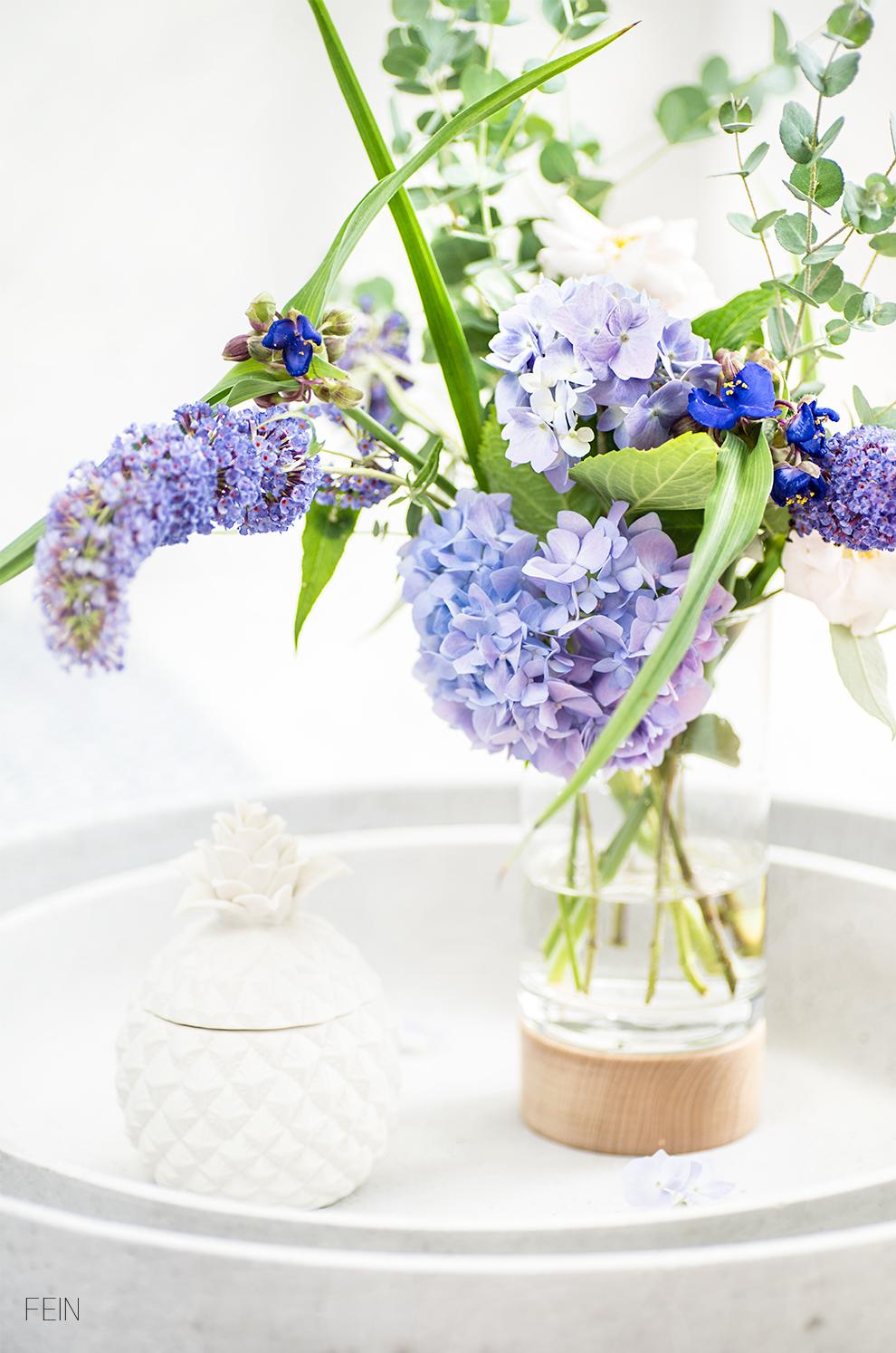 Outdoor Blumen Sommerflieder Hortensien