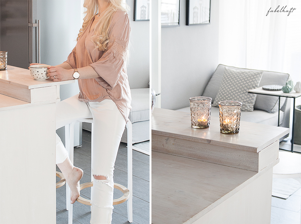 Sommer Pastell Rosegold Blush nude Rosa Interior Küche Testime Lounge grau weiß home Style Fashion Mode Sommertrend