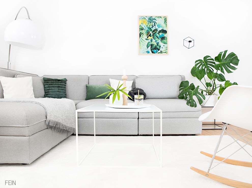 Tropisch Interior Tropical Einrichtung Sommer