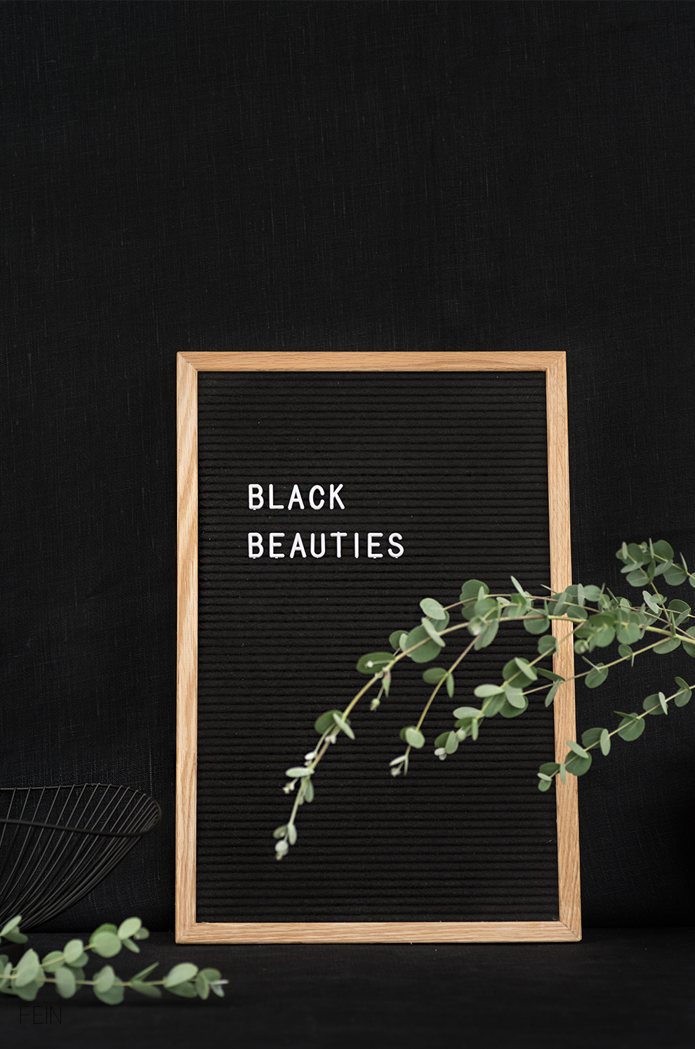 Black Beauties Letterboard Funkk