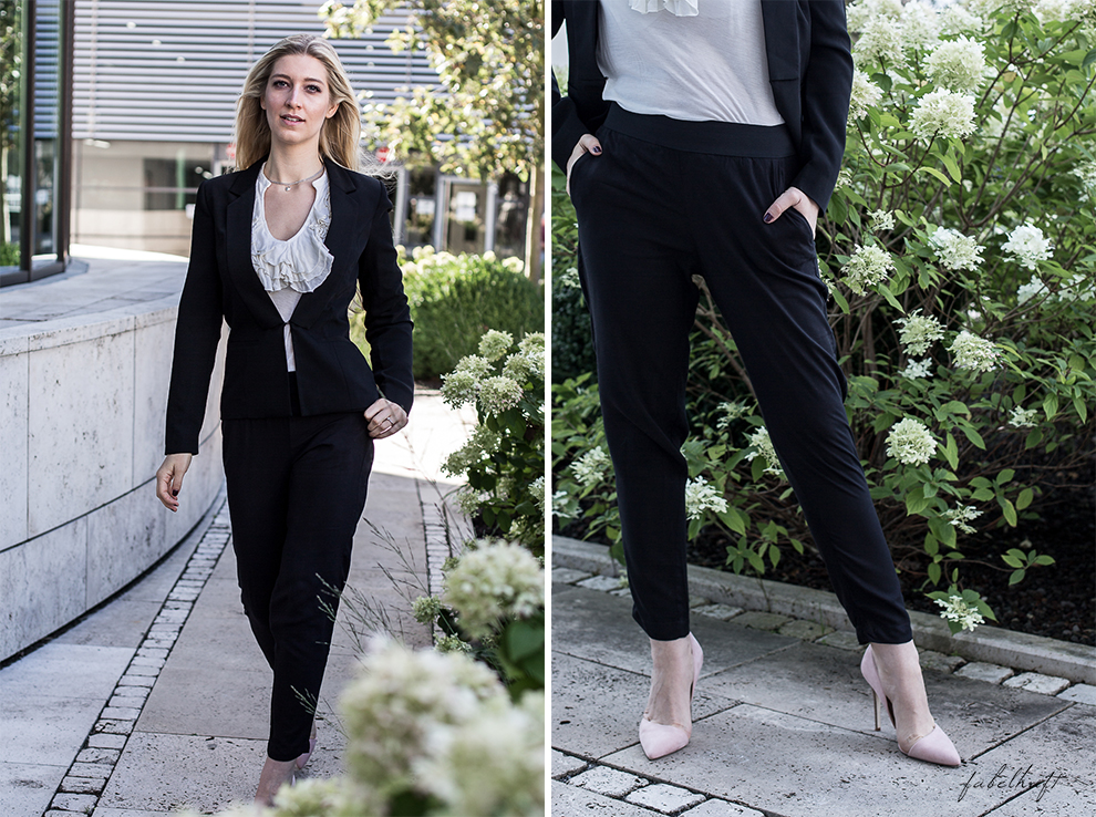 Business Outfit Girlboss Kostüm Fashion Style Liebeskind Fein & fabelhaft Fashion Trend Reken Maar 2
