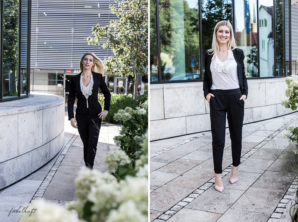Business Outfit Girlboss Kostüm Fashion Style Liebeskind Fein & fabelhaft Fashion Trend Reken Maar 3