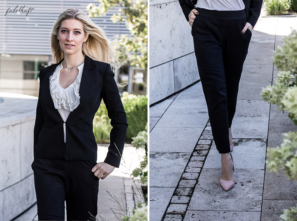 Business Outfit Girlboss Kostüm Fashion Style Liebeskind Fein & fabelhaft Fashion Trend Reken Maar
