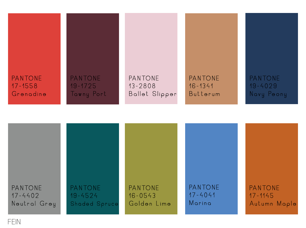 pantone farben 2017 trendfarben fr hjahr 2017 pantone fashion color report mode shopping. Black Bedroom Furniture Sets. Home Design Ideas