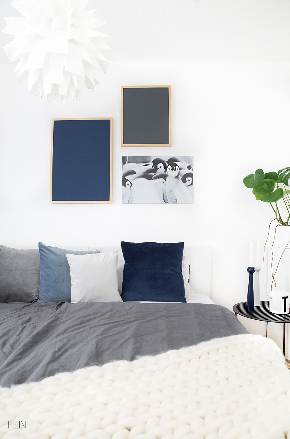 Herbstzeit Kissen Bett Schlafzimmer