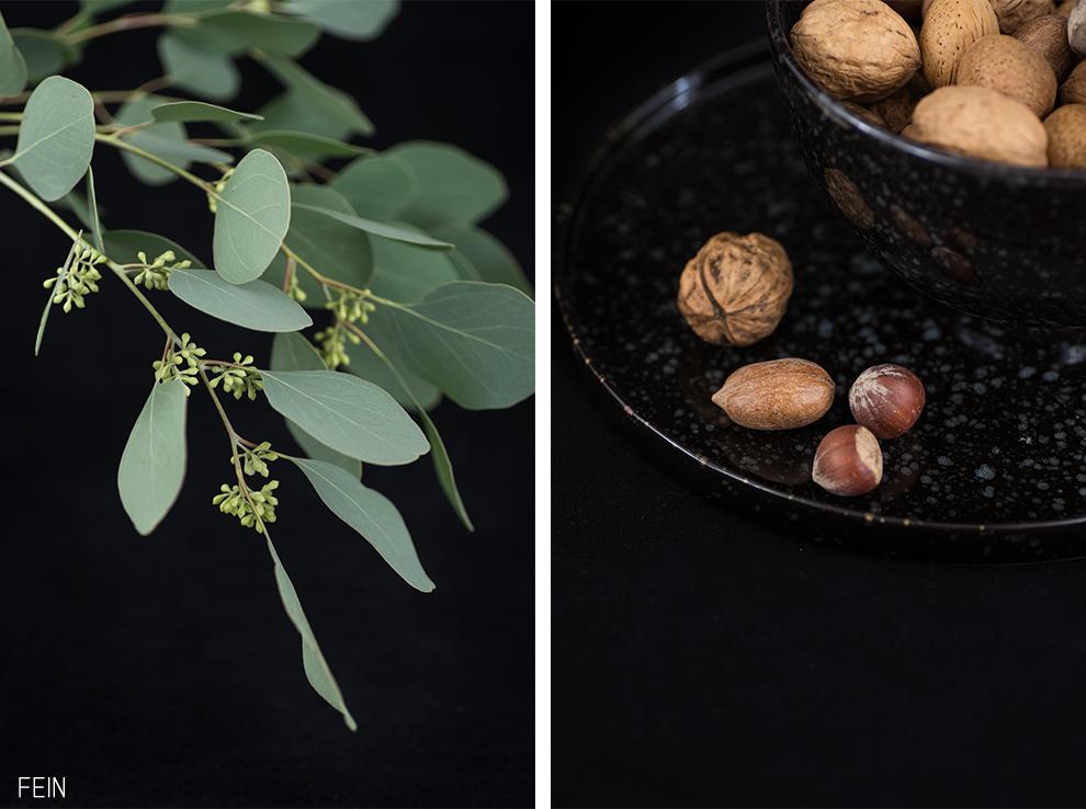 Kürbismuffins Herbst Nüsse