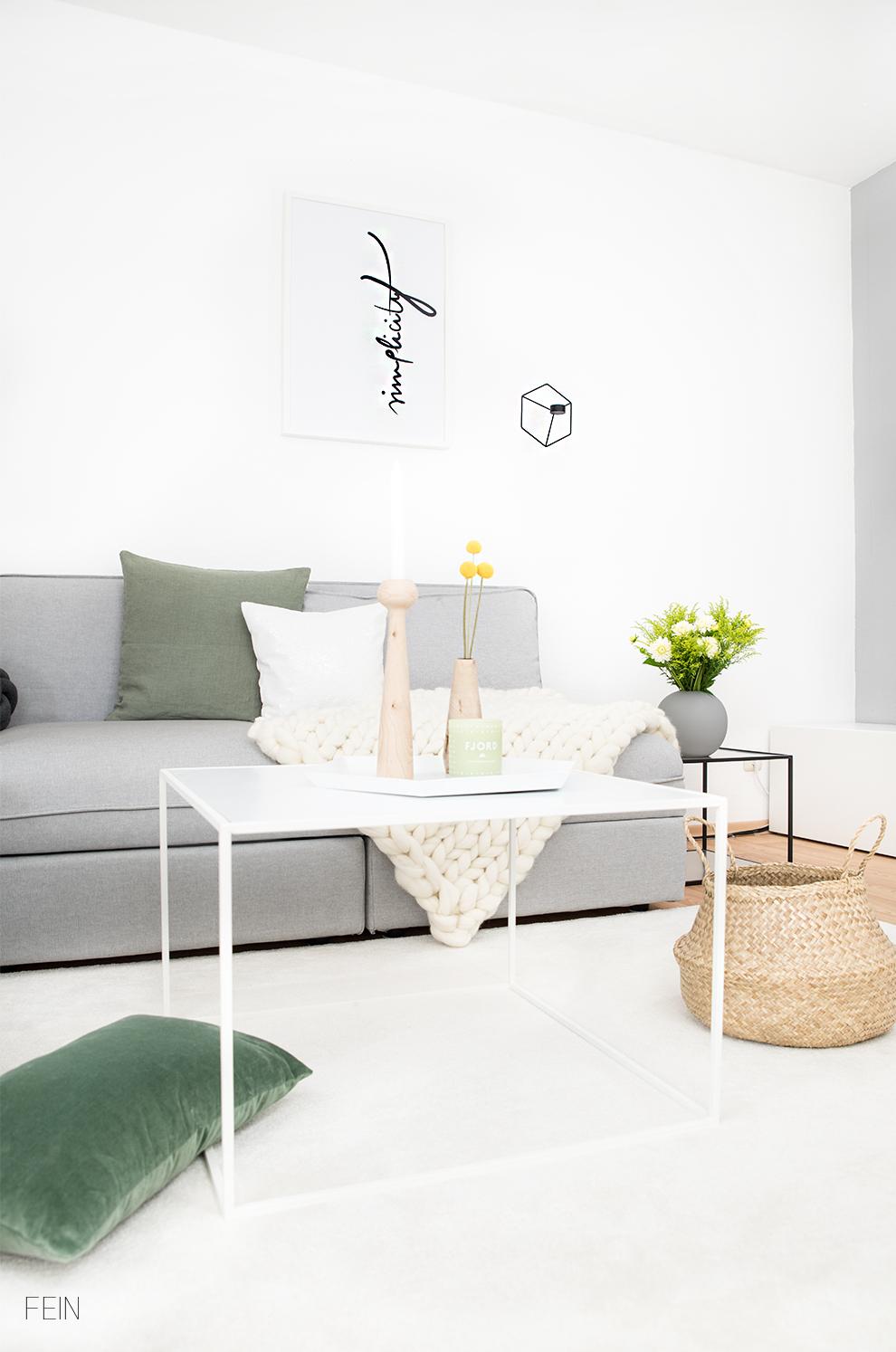 Zuhause wohnzimmer scandi white living fein und fabelhaft Wohnzimmer scandi style