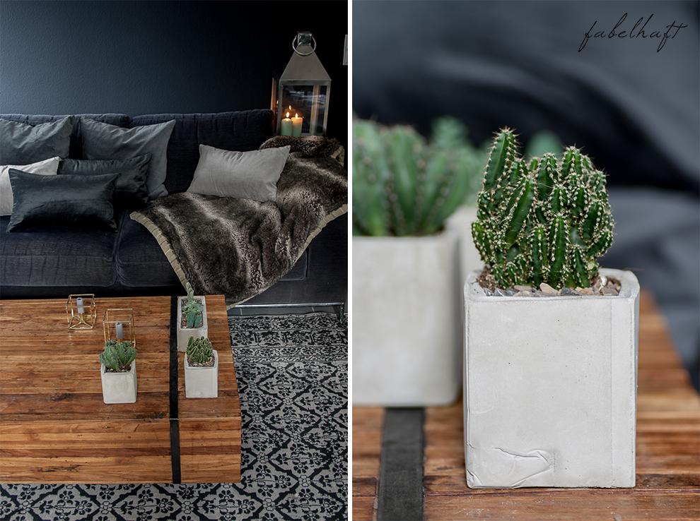 Dark Mood Interior Einrichtung Wohnzimmer dunkel Grau Herbst Winter Samt Trend Deko Gemütlich 2