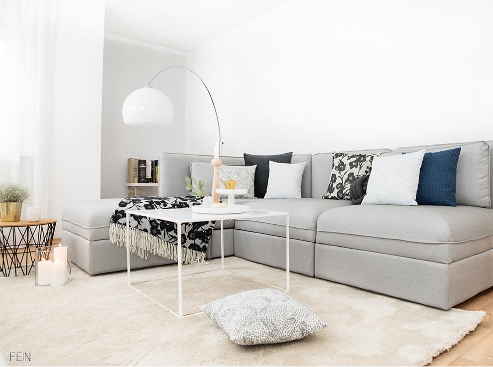 Heimtextilien Herbstdeko Sofa Wohnzimmer