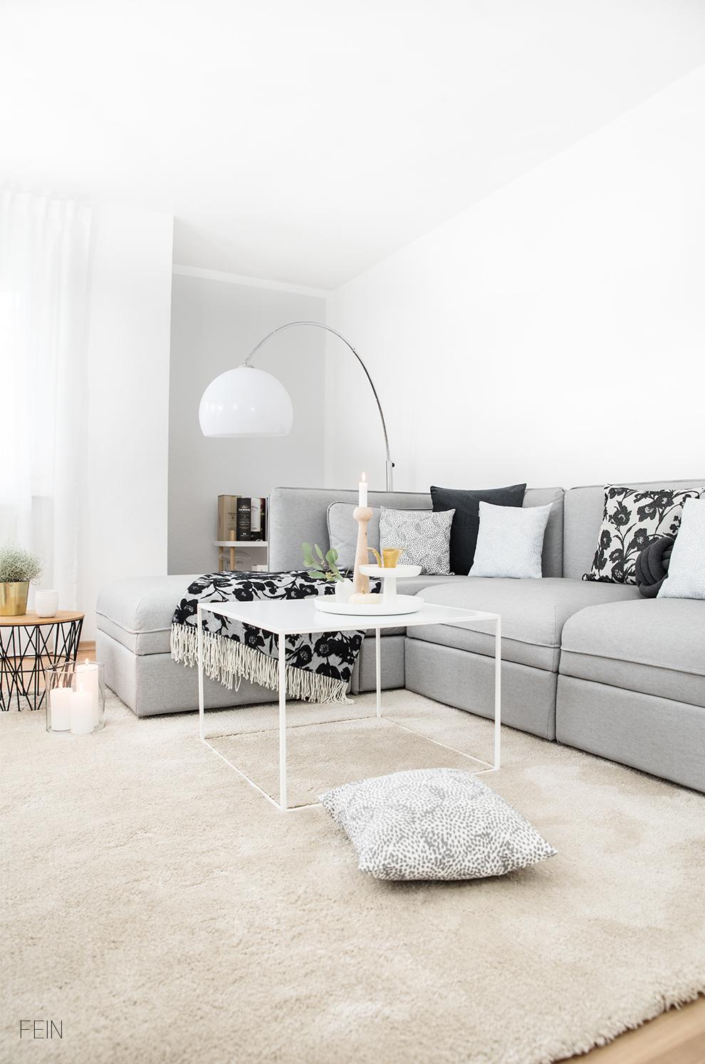 Heimtextilien Herbstdeko Trend Interior Wohnzimmer