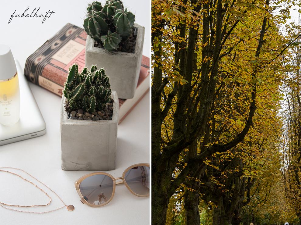 Meinekette Herbst Golden Roségold gemütlich Herbstlaub Talbot Runhof Blond Strick Beige Rollkragen Outfit Trend Mode 3