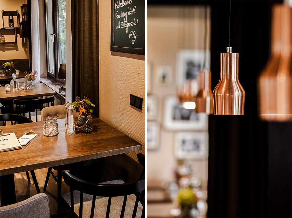 Marburg Restaurant Hotel Emils Bistro Fashion Plisseerock Weihnachten festlich grau Mode Trend 5