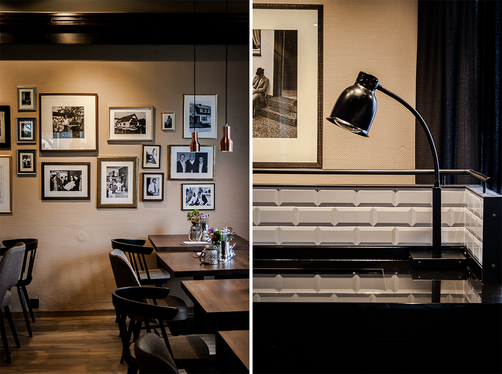 Marburg Restaurant Hotel Emils Bistro Fashion Plisseerock Weihnachten festlich grau Mode Trend 3