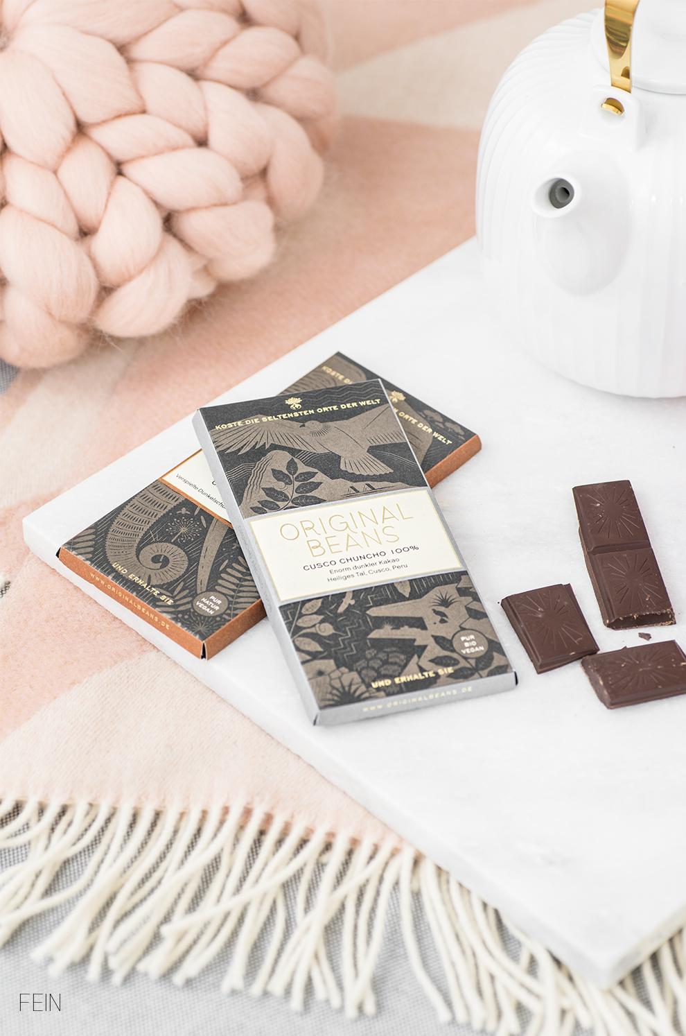 Luxus Original Beans Edelschokolade