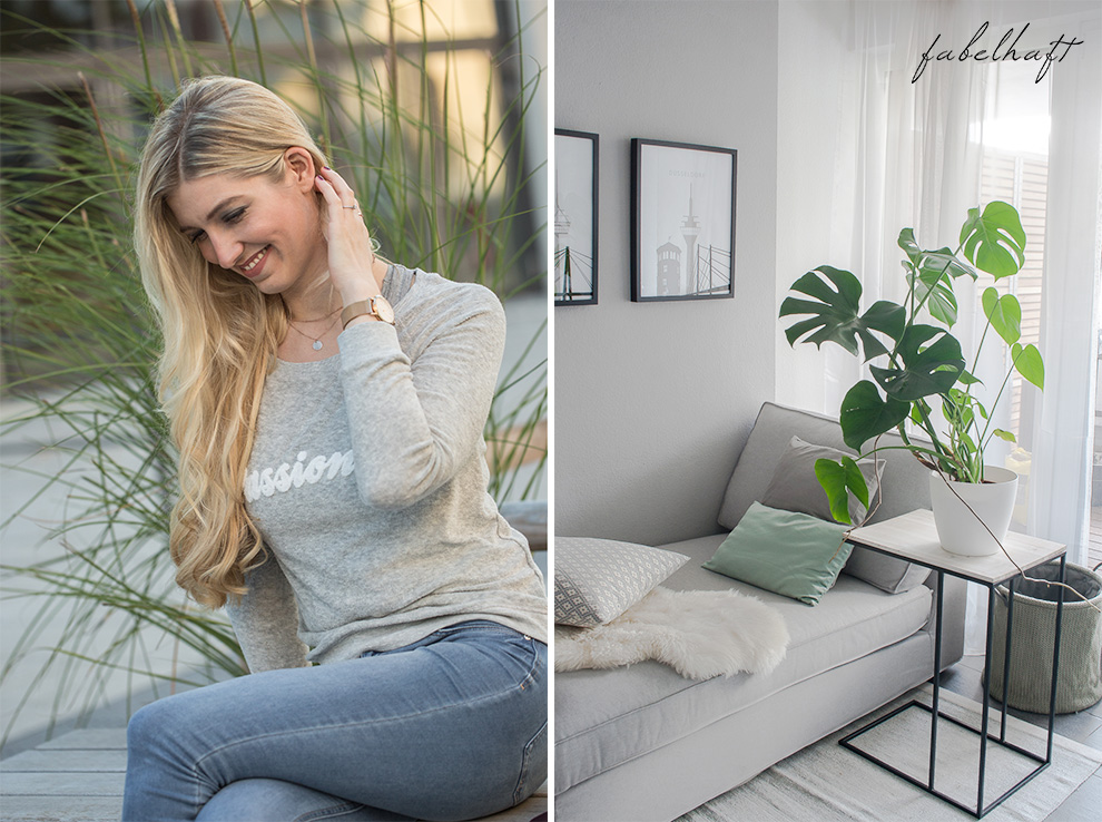 Meinekette Roségold Schmuck Plättchen Disk Chain Layer Cosy Weekend Sweater Blong Bloffer Fein fabelhaft Outfit Style Trend Mode Fashion 2
