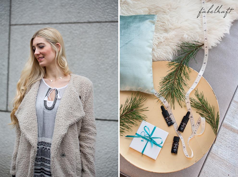 My little bonheur You&Oil K1 Aromatherapie Plättchenkette Familienkette Disc Roségold Weihnachsgeschenk persönlich Handmade
