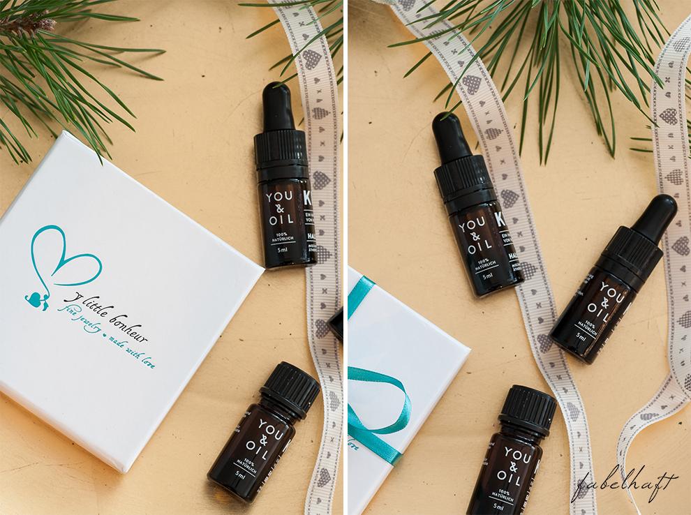 My little bonheur You&Oil K1 Aromatherapie Plättchenkette Familienkette Disc Roségold Weihnachsgeschenk persönlich Handmade 9
