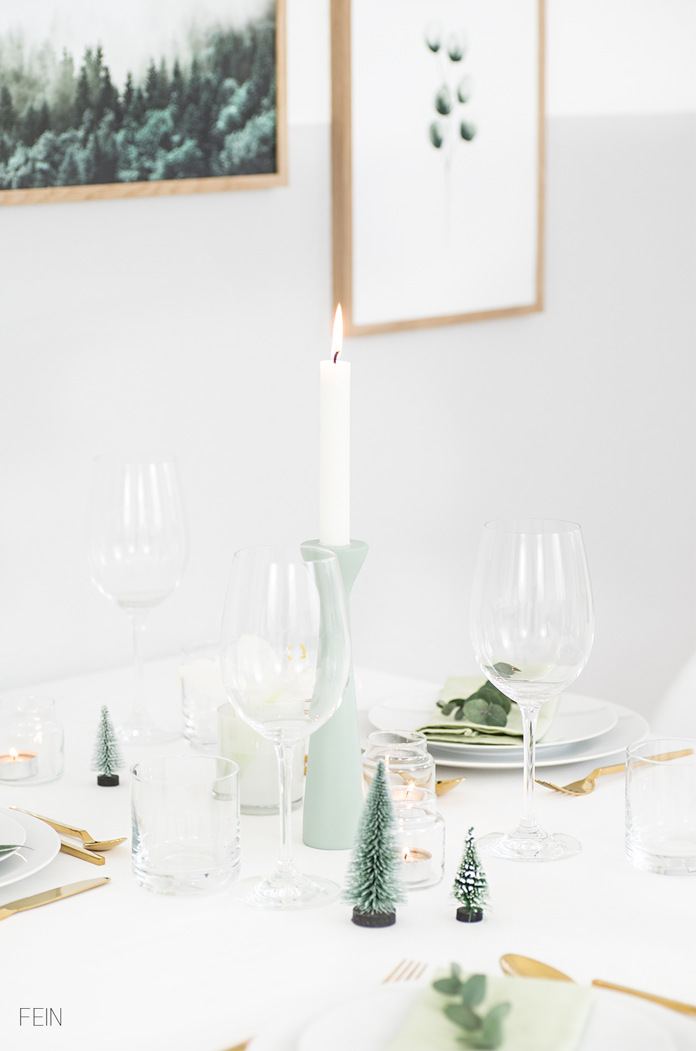 Weihnachtstisch Tablesetting Xmas Christams