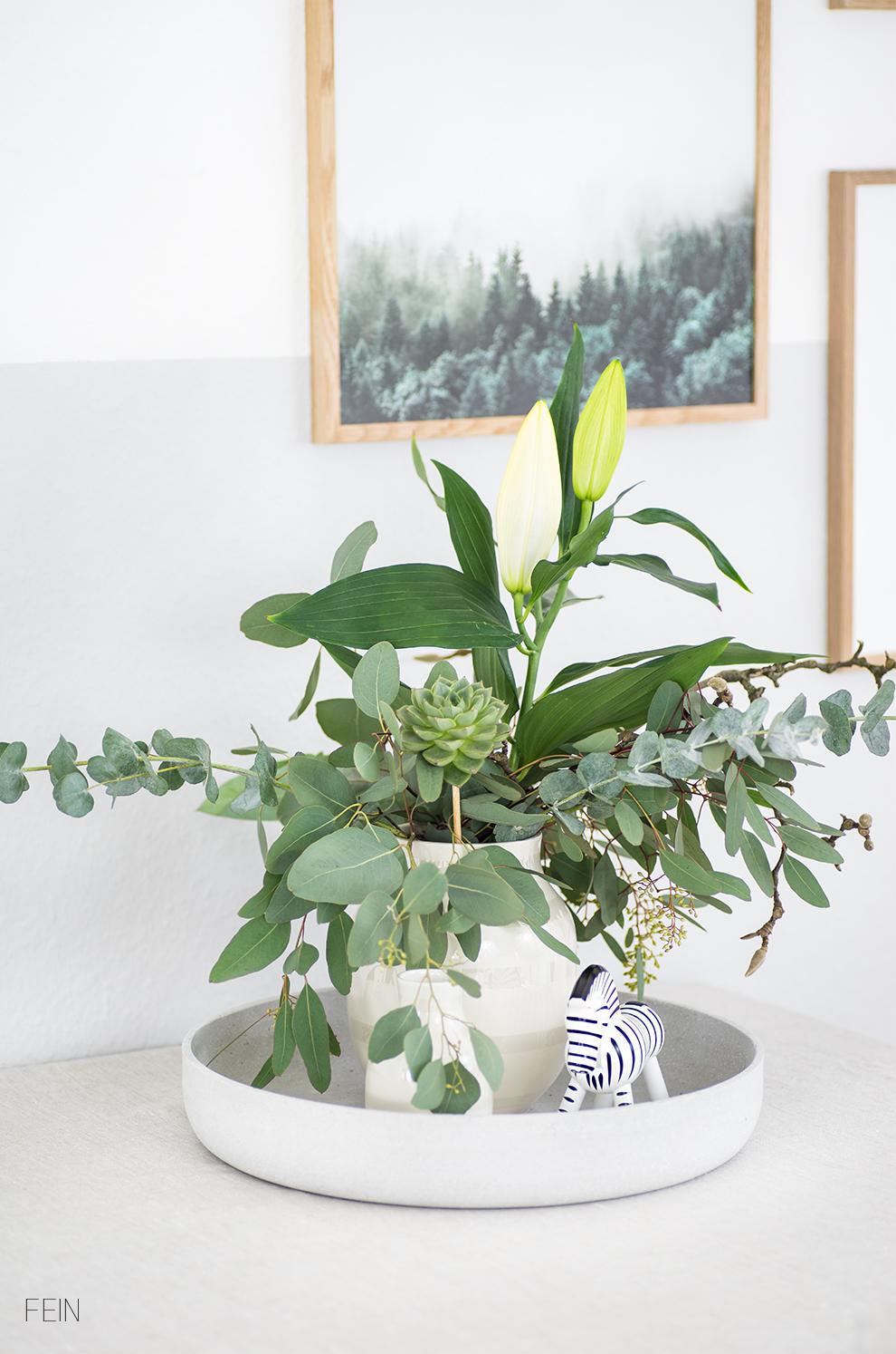 Blumenstrauß Eucalyptus
