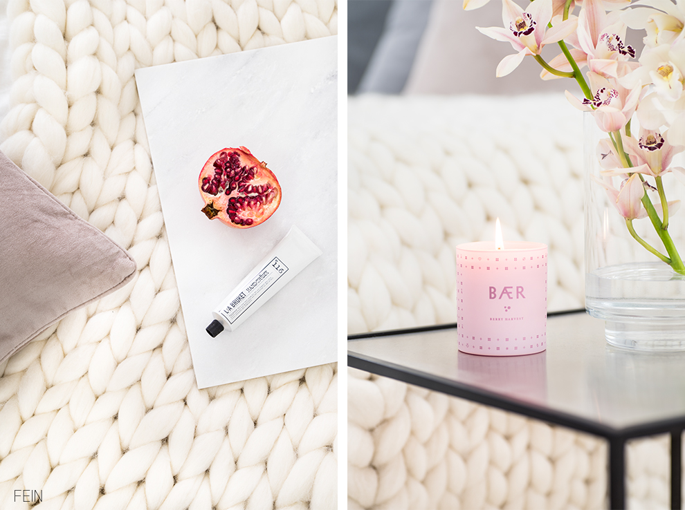 Sanfte Farben Rose grau