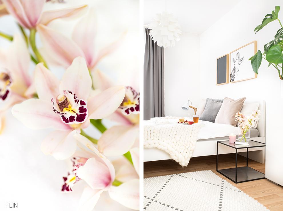Sanfte Farben im Schlafzimmer - Fein und Fabelhaft