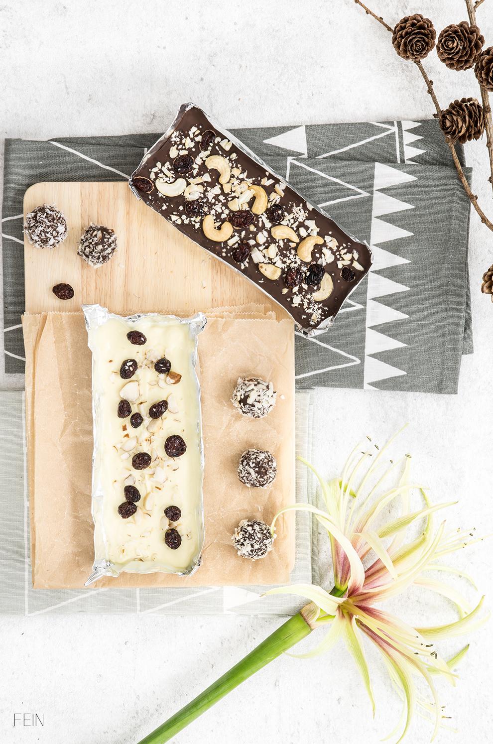 Serienabend DIY Schokolade