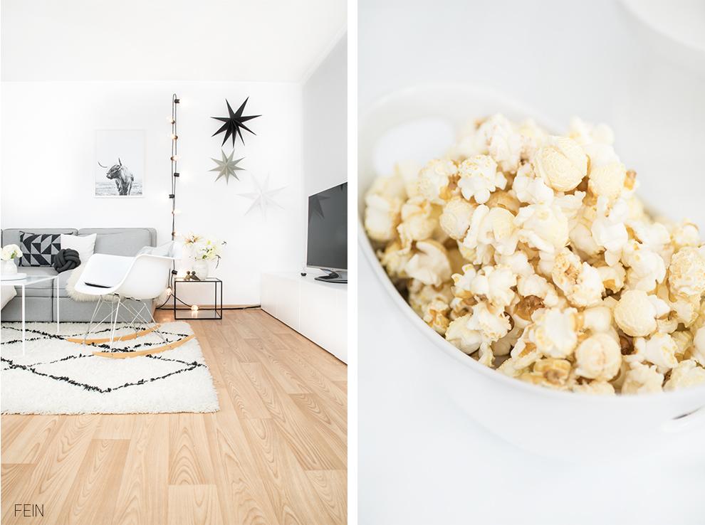 Serienabend Popcorn