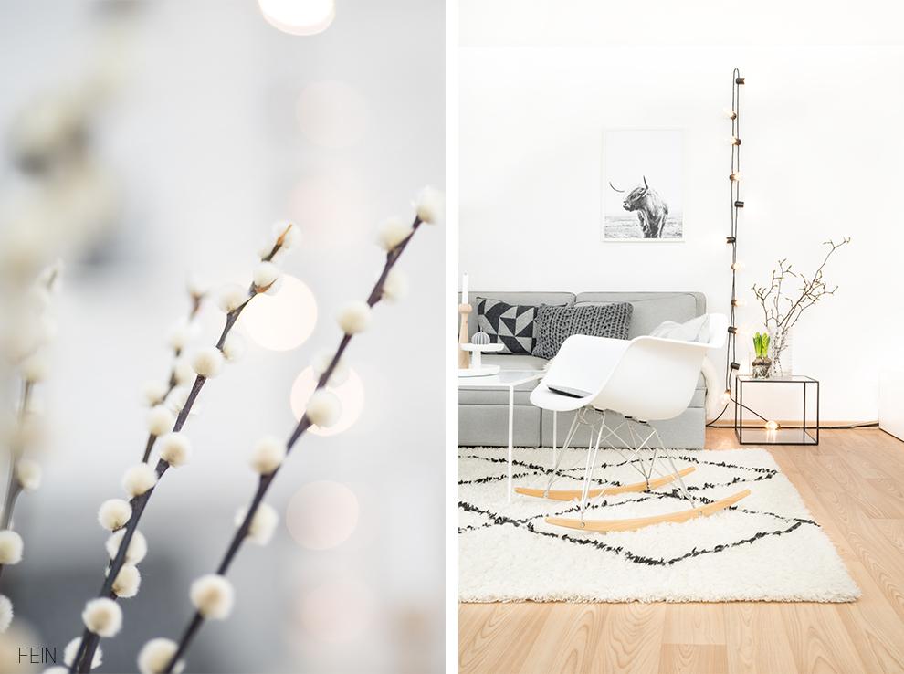 Wohnzimmer Styling Februar