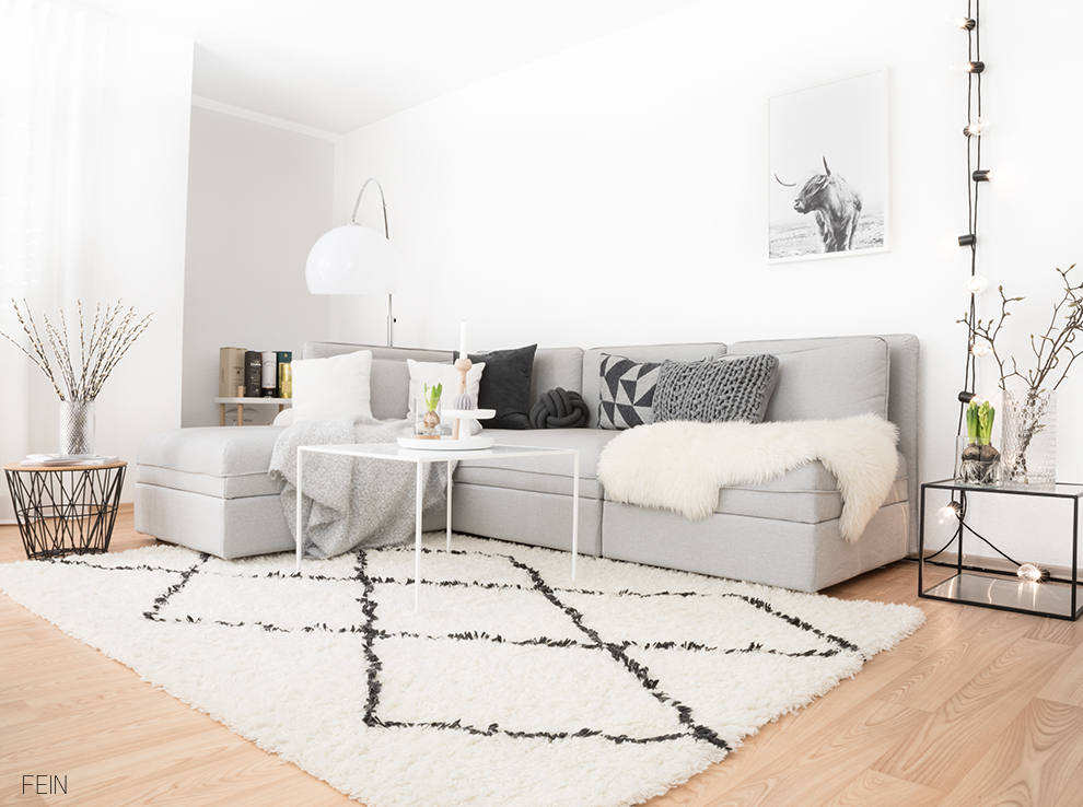 Wohnzimmer Styling scnadi Stil